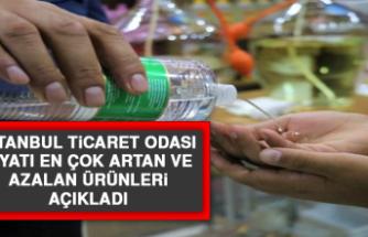 İstanbul Ticaret Odası, Fiyatı En Çok Artan ve Azalan Ürünleri Açıkladı