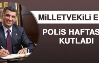 Milletvekili Erol Polis Haftasını Kutladı