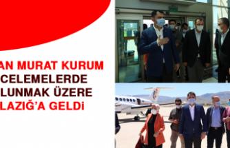 Bakan Murat Kurum Elazığ'a Geldi