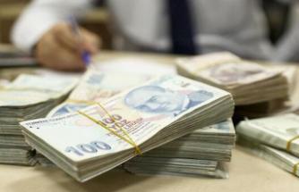 Hazine 1,8 milyar lira borçlandı