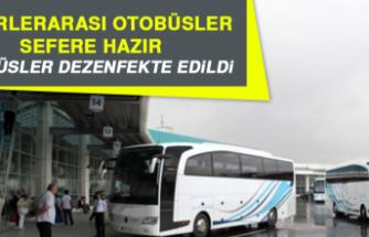 Şehirlerarası Otobüsler Sefere Hazır