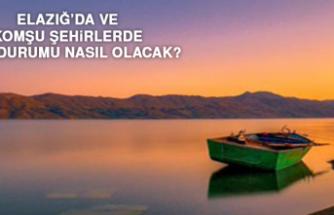 3 Haziran'da Elazığ'da Hava Durumu Nasıl Olacak?