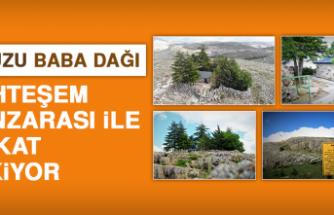 Ankuzu Baba Dağı, Muhteşem Manzarası İle Dikkat Çekiyor