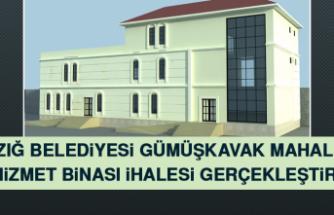 Elazığ Belediyesi Gümüşkavak Mahallesi Ek Hizmet Binası İhalesi Gerçekleştirildi