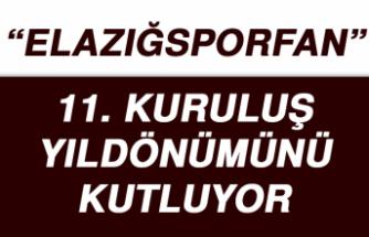 """""""Elazığsporfan"""" 11 Yaşında…"""