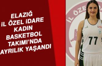 Elazığ İl Özel İdare Kadın Basketbol Takımı'nda Ayrılık Yaşandı