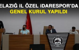 Elazığ İl Özel İdarespor'da Genel Kurul Yapıldı