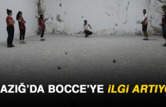 Elazığ'da Bocce'ye İlgi Artıyor