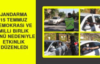 Elazığ'da Jandarma 15 Temmuz Demokrasi Ve Milli Birlik Günü Etkinliği Düzenledi