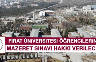 FÜ Öğrencilerine Mazeret Sınavı Hakkı Verilecek