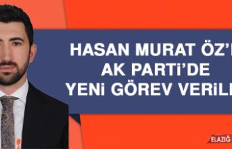 Hasan Murat Öz'e AK Parti'de Yeni Görev Veridi