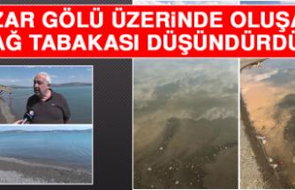Hazar Gölü Üzerinde Oluşan Yağ Tabakası Düşündürdü