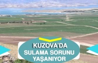 Kuzova'da Sulama Sorunu Yaşanıyor