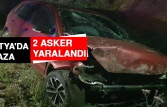 Malatya'da Kaza: 2 Asker Yaralandı