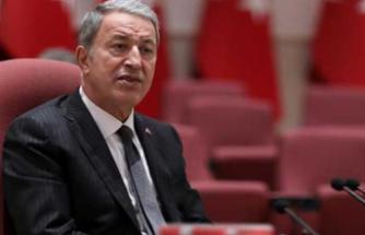 Milli Savunma Bakanı Akar: Vazgeçmemiz söz konusu değil!