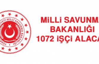 Milli Savunma Bakanlığı 1072 İşçi Alacak