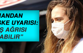 Uzmandan Maske Uyarısı: Baş Ağrısı Yapabilir