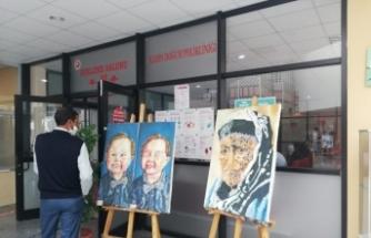 """Van YYÜ'de """"15 Temmuz Karma Sergisi"""" açıldı"""