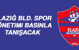 Elazığ BLD. Spor Yönetimi Basınla Tanışacak