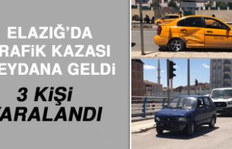 Elazığ'da Trafik Kazası Meydana Geldi