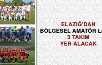 Elazığ'dan Bölgesel Amatör Lig'de 3 Takım Yer Alacak