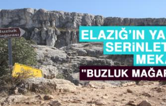 """Elazığ'ın Yazın Serinleten Mekanı """"Buzluk Mağarası"""""""