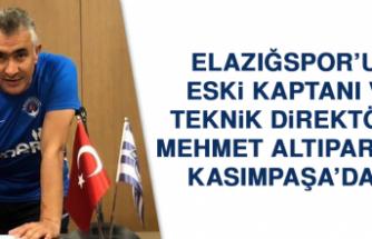 Elazığspor'un Eski Kaptanı ve Teknik Direktörü Mehmet Altıparmak, Kasımpaşa'da…