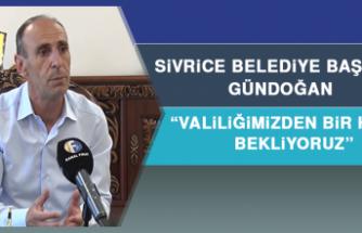Gündoğan: Göle Herkesin Sahip Çıkması Gerekiyor
