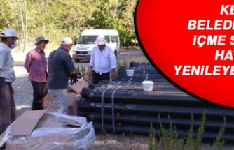 Keban Belediyesi, İçme Suyu Hattını Yenileyecek