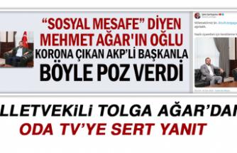 Milletvekili Ağar'dan ODA TV'ye Sert Yanıt