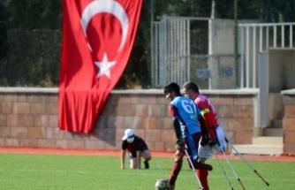 Ampute Futbol Türkiye Kupası müsabakaları