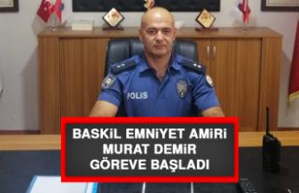 Baskil Emniyet Amiri Murat Demir Göreve Başladı