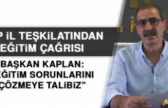 CHP İL TEŞKİLATINDAN, EĞİTİM ÇAĞRISI