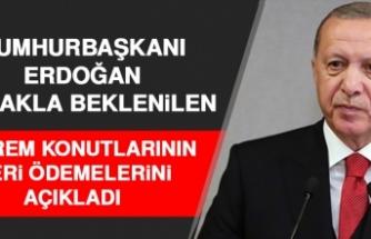 Cumhurbaşkanı Erdoğan TOKİ Evlerinin Ödeme Oranlarını Açıkladı!