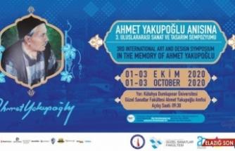 DPÜ'de Ahmet Yakupoğlu Sempozyumu