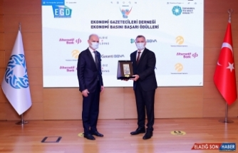 EGD 12. Ekonomi Basını Başarı Ödülleri sahiplerini buldu