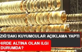 Elazığ'da Altına Talep Düştü mü?
