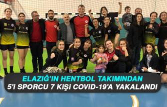 Elazığ'ın Hentbol Takımından 5'i Sporcu 7 Kişi Covid-19'a Yakalandı