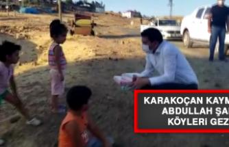 Karakoçan Kaymakamı Şahin, Köyleri Gezdi