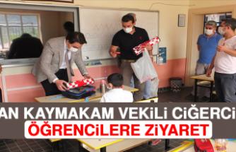 Keban Kaymakam Vekili Ciğerci'den Öğrencilere Ziyaret