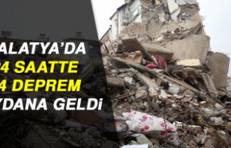 MALATYA'DA 24 SAATTE 14 DEPREM MEYDANA GELDİ