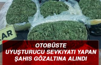Otobüste Uyuşturucu Sevkiyatı Yapan Şahıs Gözaltına Alındı