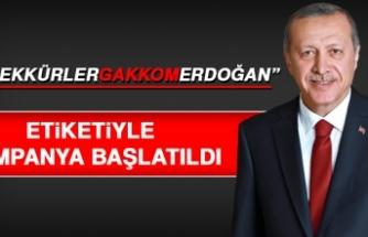 """""""TeşekkürlerGakkomErdoğan"""" Etiketiyle Kampanya Başlatıldı"""