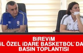 Birevim İl Özel İdare Basketbol'dan Basın Toplantısı