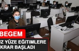 EBEGEM, Yüz Yüze Eğitimlere Tekrar Başladı