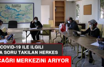 Elazığ'da Covid-19 İle İlgili Aklına Soru Takılan Herkes Bu Çağrı Merkezini Arıyor