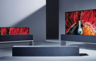 LG 'nin Katlanabilir Televizyonu, Oldukça Yüksek Bir Fiyatla Satışa Çıktı