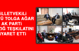 Milletvekili Ağar, AK Parti Teşkilatını Ziyaret Etti