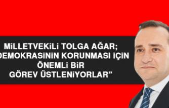 Milletvekili Ağar, Dünya Gazeteciler Günü Nedeniyle Açıklama Yaptı
