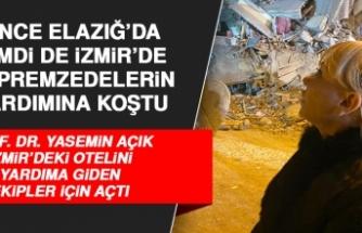 Prof. Dr. Yasemin Açık, İzmir'deki Otelini Depremzede ve Ekipler İçin Açtı